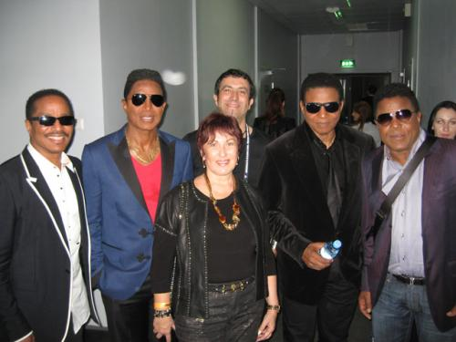 White Night festival was The Jacksons