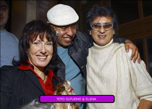 Toto Cutugno and Elena