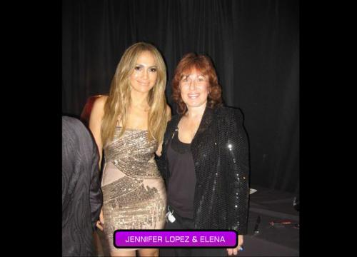 Jennifer Lopez and Elena