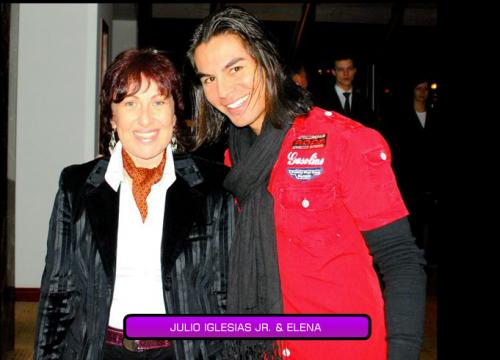 Julio Iglesias Jr and Elena