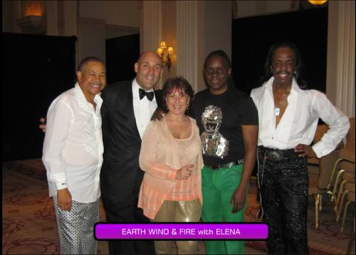 Earth Wind and Fire with Elena