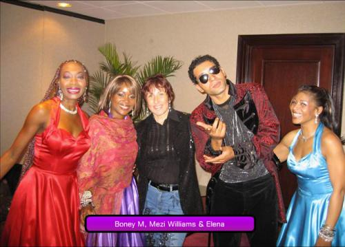 Boney M, Mezi Williams & Elena