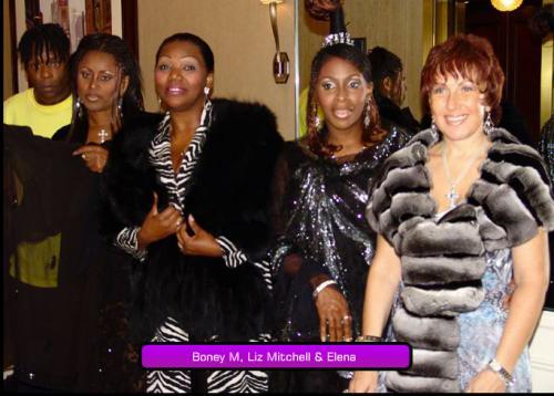 Boney M, Liz Mitchell & Elena