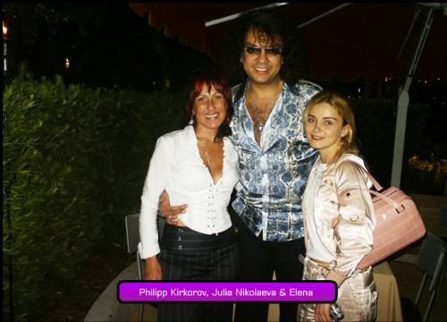 Philipp Kirkorov, Julia Nikolaeva & Elena