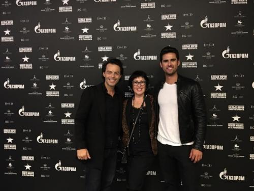 Press Conference for Nuno Resende, Elena Iourova, and Alejandro Irizarry at the White Nights Festival